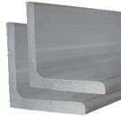 "1-1/2"" x 1-1/2"" x 3/16"" Aluminum Angle 6061-T6 Structural"