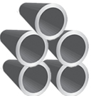 "1.000"" od x .065""wall CREW Steel Round Tube"