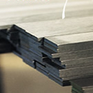 "5/8 (.625) x 10"" A-2 Oversize Tool Steel Flat Bar Stock, A2 Air-Hardening (18"" and 36"" Lengths)"