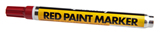 Forney 60314 Carded Red Paint Marker