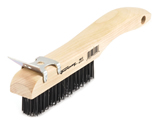 Forney 70512 Shoe Handle Wire Brush W/Scraper
