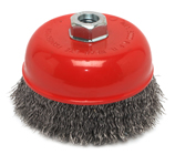 "Forney 72754 5"" X 5/8"" 11Thd Crimp Cup Brush"