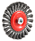 "Forney 72758 6"" X 5/8"" 11Thd Knot Wheel"