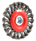 "Forney 72759 4"" X 5/8"" 11Thd Knot Wheel"